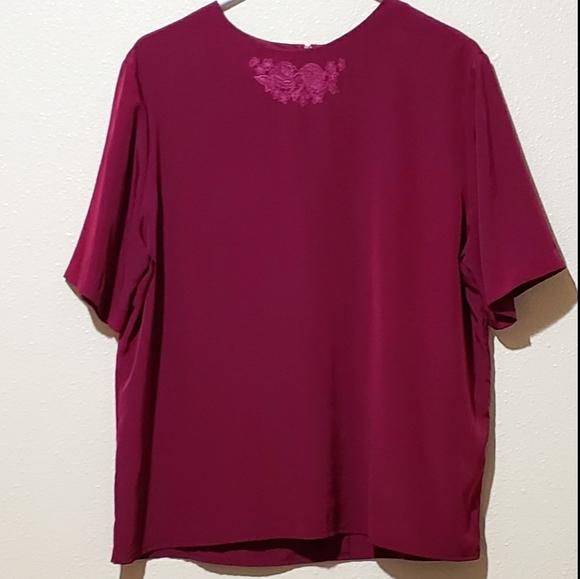 Dressy Silk Top